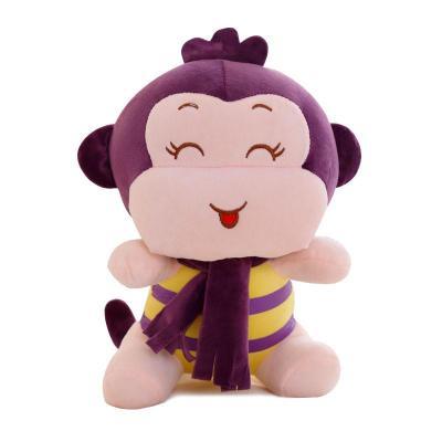 安吉宝贝可爱嘻哈猴公仔小猴子毛绒玩具 悠嘻猴布娃娃 儿童节生日礼物