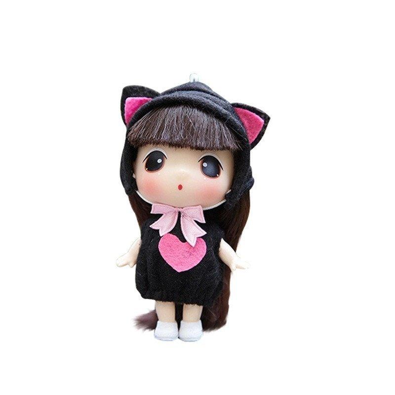 ddung冬己娃娃 来自韩国的迷糊娃娃 9cm可爱版 实惠装 0901a高清实拍