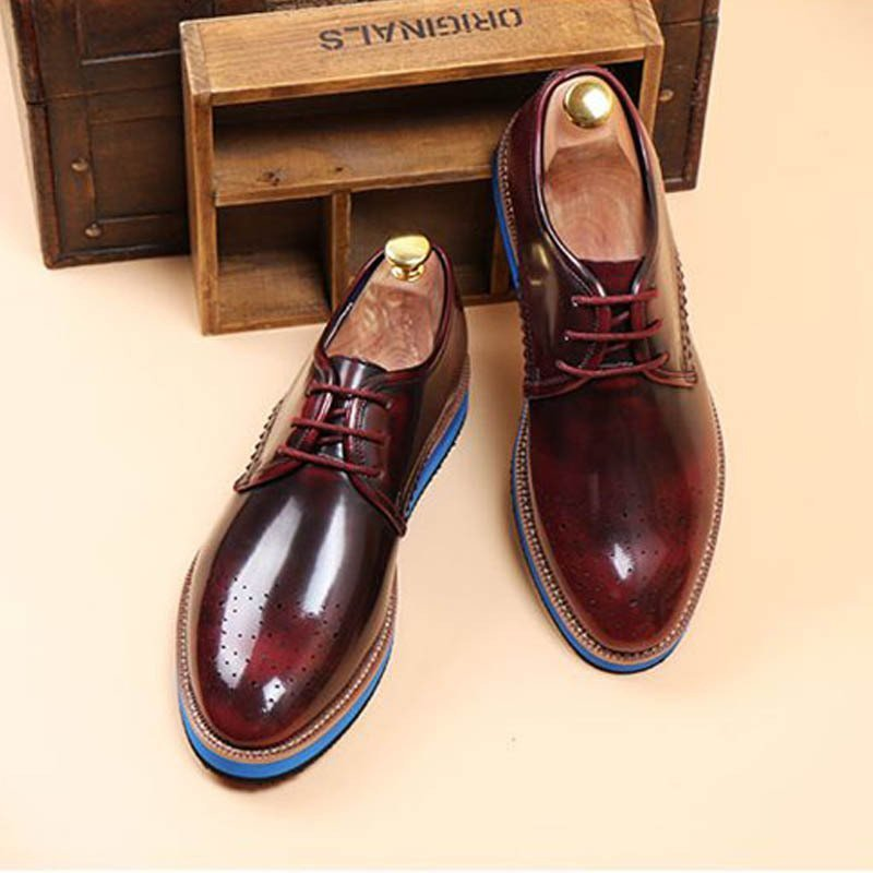 favorlove 布洛克皮鞋