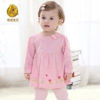 婴儿服装女宝宝春秋装六个月婴幼儿衣服女童装