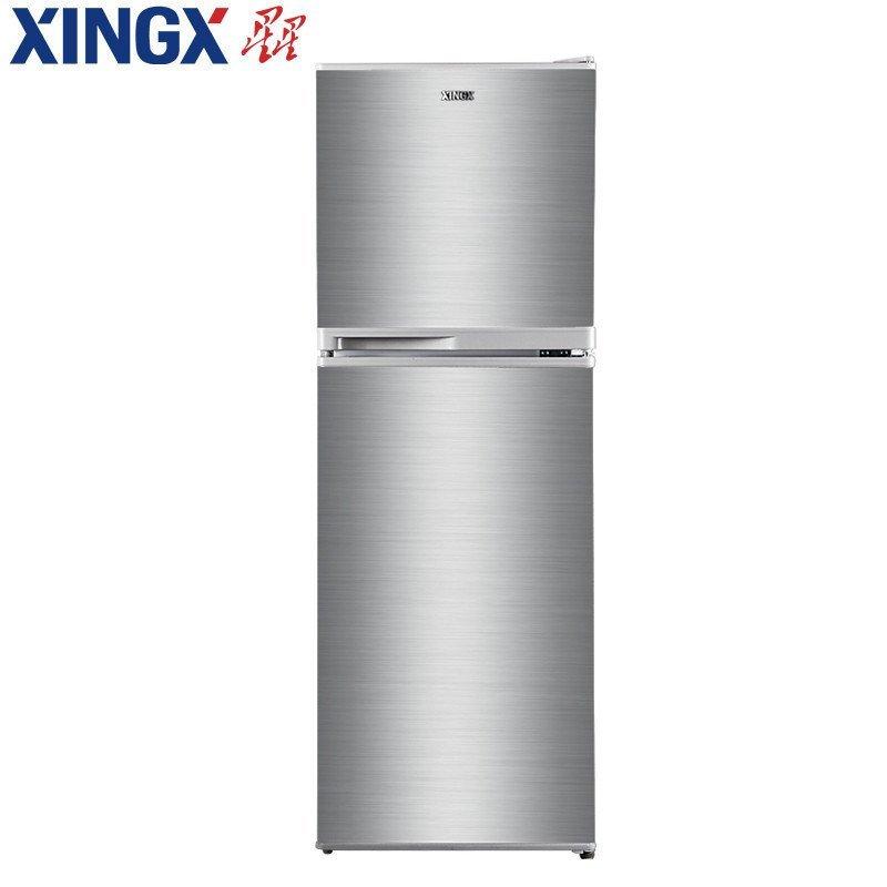 星星(XINGX) BCD-143EC 143升 双门冰箱 (银色)