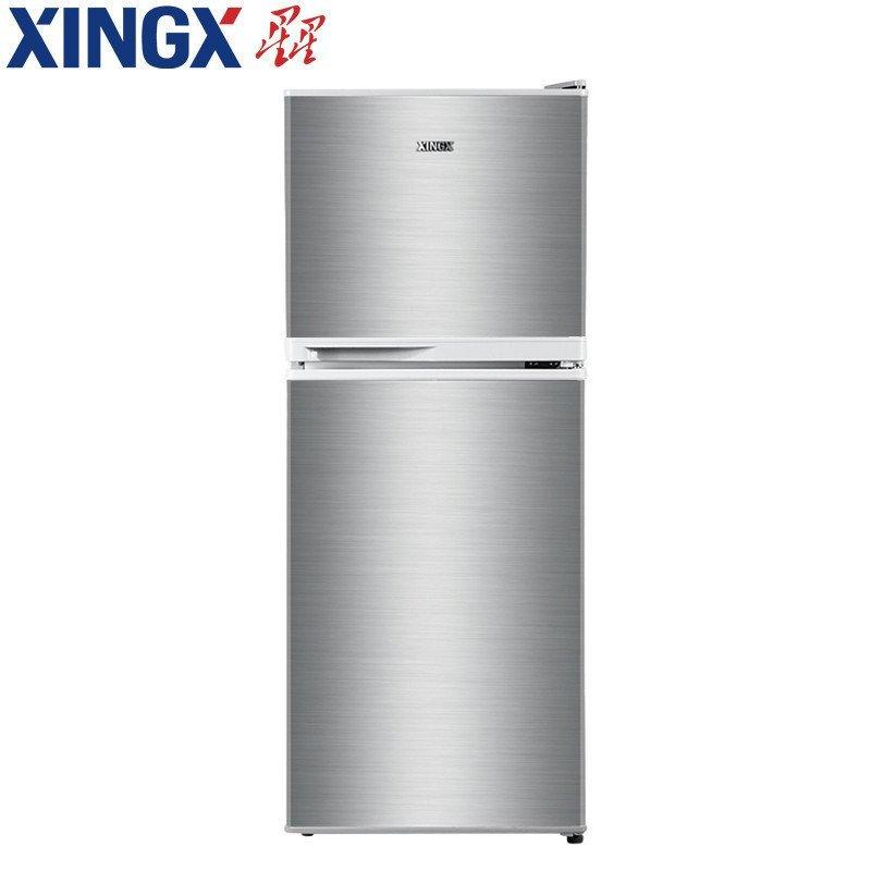 星星(XINGX) BCD-116EC 116升 双门冰箱(银色)