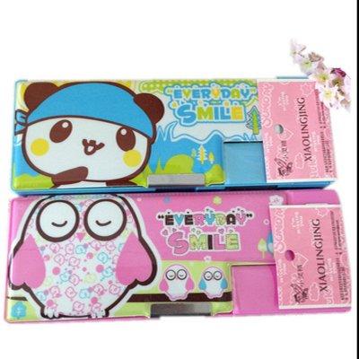 """家英塑料文具盒 3513 韩国可爱小学生文具盒收纳笔袋铅笔盒 """""""