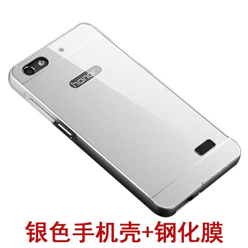 】华为荣耀4x手机壳4x金属边框后盖保护