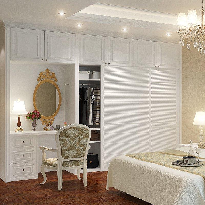 衣柜+床头柜+梳妆台