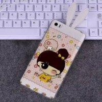 新小米Note兔回事手机壳耳朵Note女神版手机小米5s上电冲不小米怎么硅胶图片
