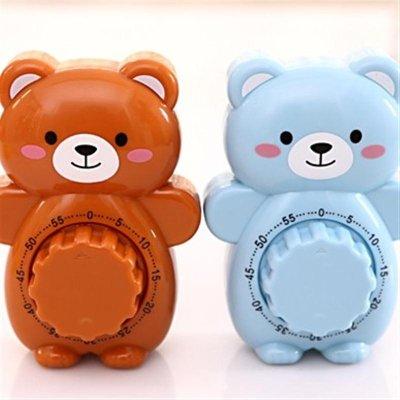 创意可爱小熊卡通定时器 小闹钟 rb211