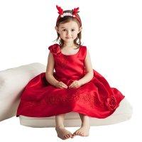 宝茉莉儿童礼服童装女童公主裙晚礼服花童婚纱