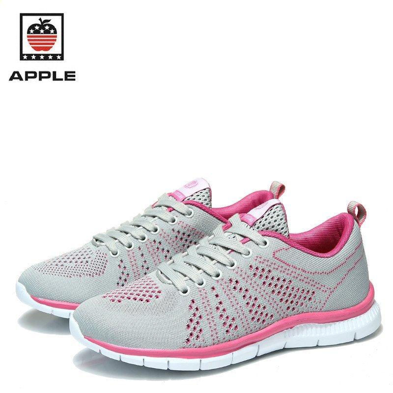 51387-60875】苹果(apple)飞织镂空鞋户外