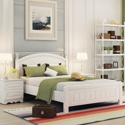 双虎家私 床 儿童床青少年卧室套装家具13m005