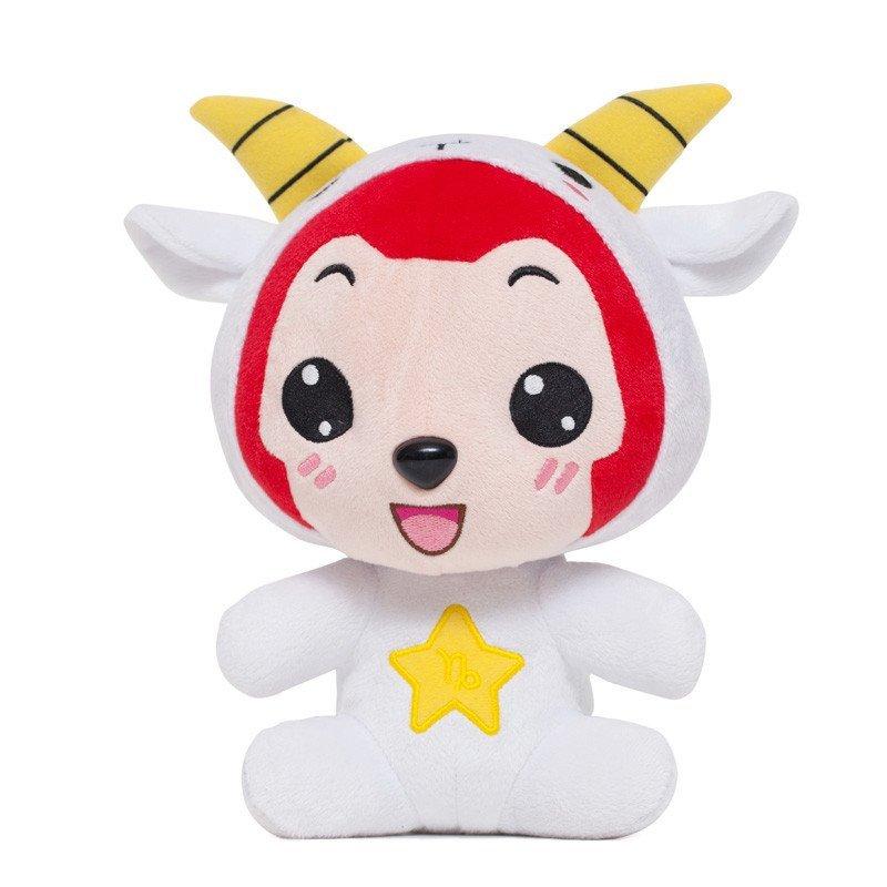 阿狸ali 梦之城可爱卡通毛绒玩具 12星座 摩羯座高清实拍图