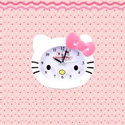 kitty创意可爱闹钟