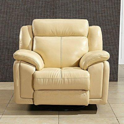 功能牛皮沙发欧式简约大小户型客厅皮艺沙发功能沙发