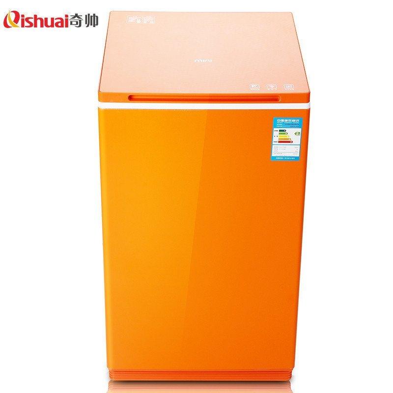 奇帅/Qishuai XQB50-288 5公斤全自动家用节能波轮洗衣机(炫橙)