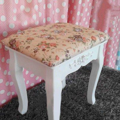 【椅子/凳子 a71】【京好】欧式梳妆凳子 小碎花化妆