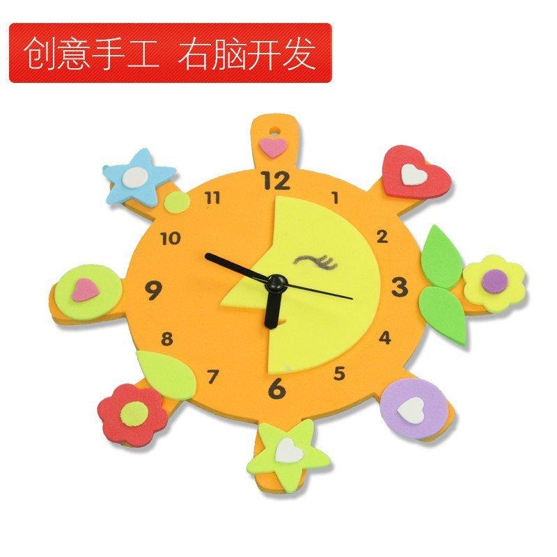 ml】手工创意钟表