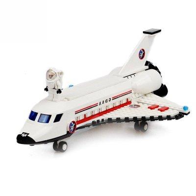 古迪8814航天系列航天飞机 儿童益智拼装拼插积木玩具