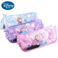 迪士尼冰雪小学儿童笔袋奇缘文具盒小学生铅万州区女孩汶罗图片