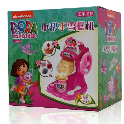 冰淇淋雪糕机 儿童diy手工食品制作过家家男女孩玩具