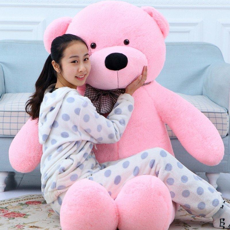 熊猫公仔玩偶布娃娃可爱超大号毛绒玩具泰迪熊抱抱熊1.8大熊1.6米 1.