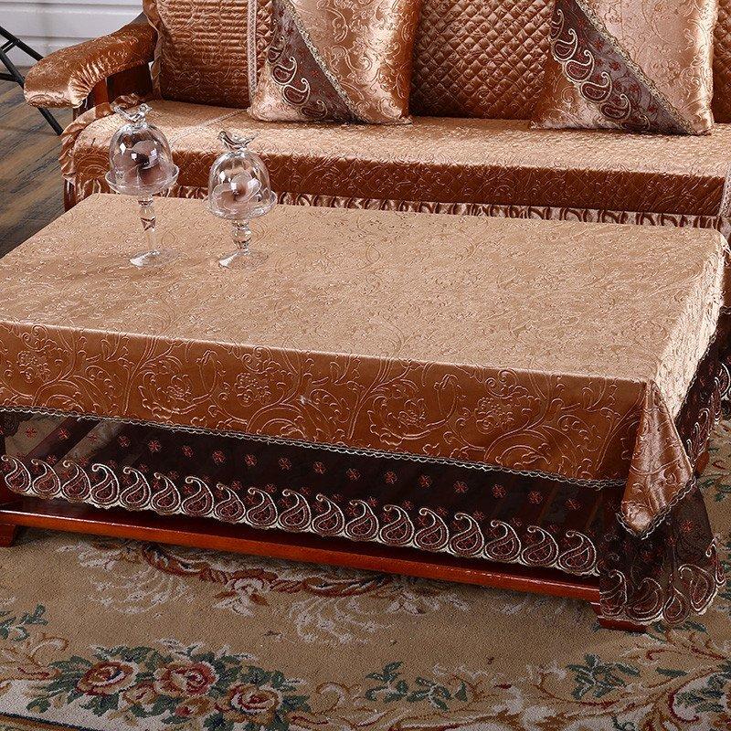 添富贵家纺 韩国绒红木实木沙发坐垫带靠背 连体联邦椅垫 现代中式