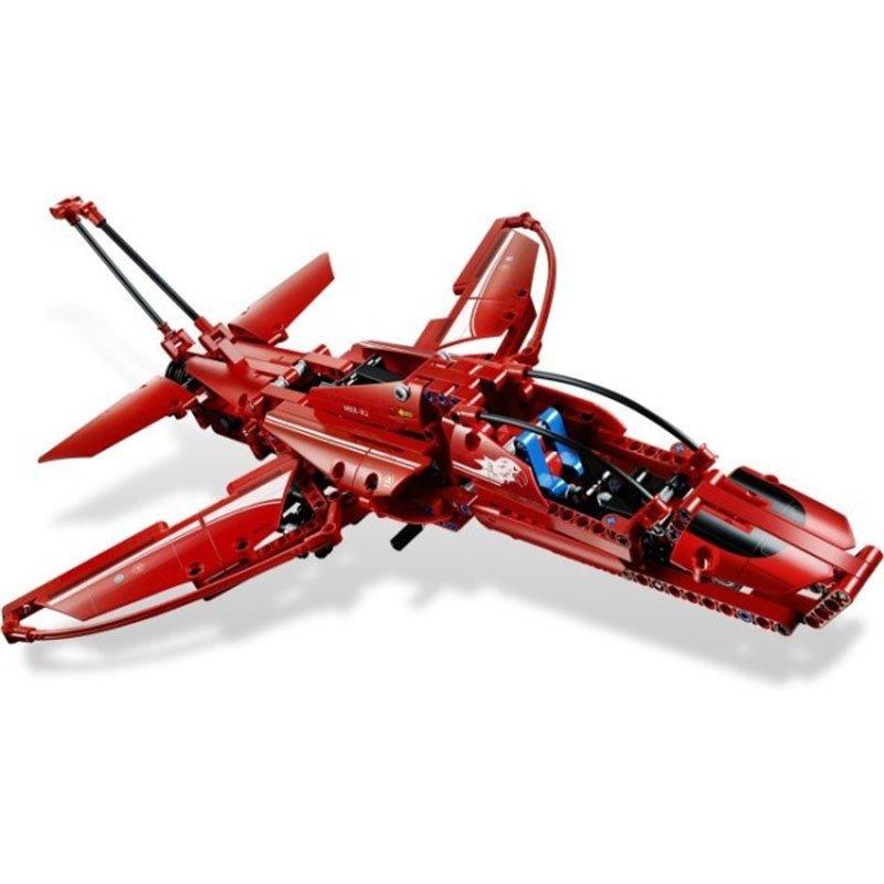 lego乐高积木玩具 科技technic 喷气式飞机 l9394 绝版高清实拍图