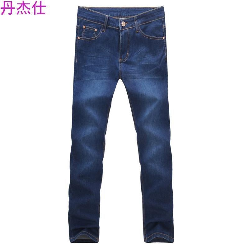 丹杰仕小新款时尚潮流白搭经典款牛仔裤白底 312.39尺. 608浅蓝色