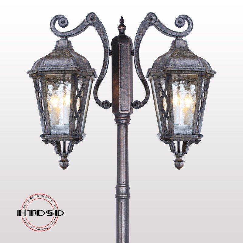欧式路灯户外灯高杆 道路灯 景观庭院路灯户外 庭院灯室外别墅灯 仿古