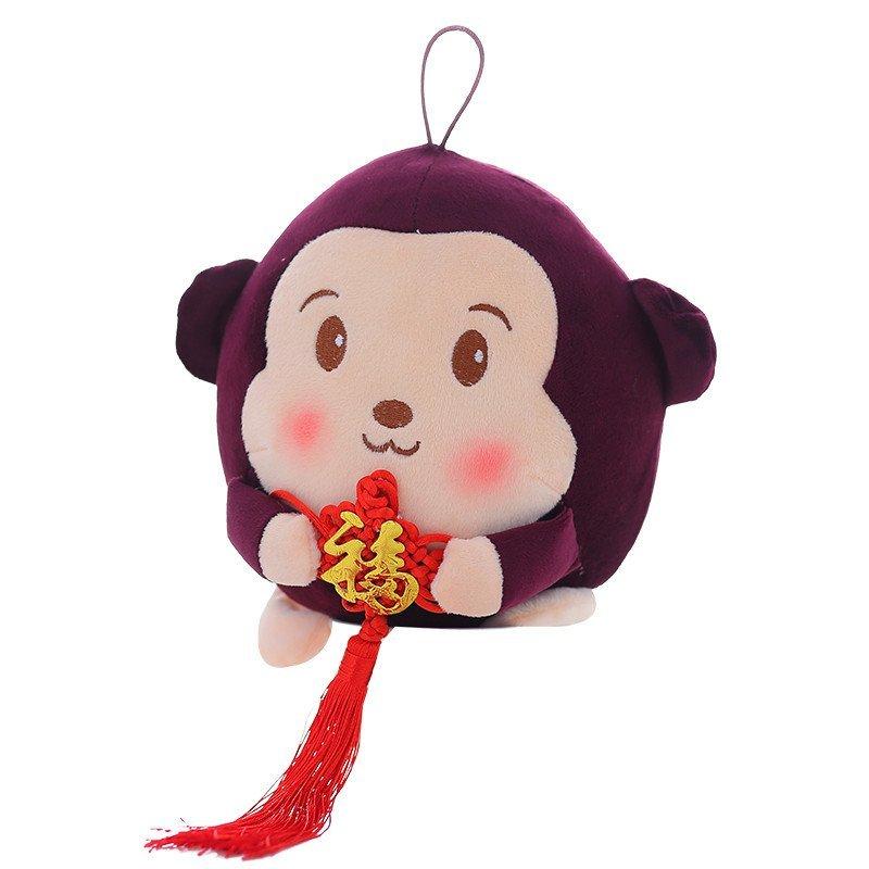 安吉宝贝小猴子毛绒玩具公仔玩偶猴年吉祥物可爱福猴送女生生日礼物