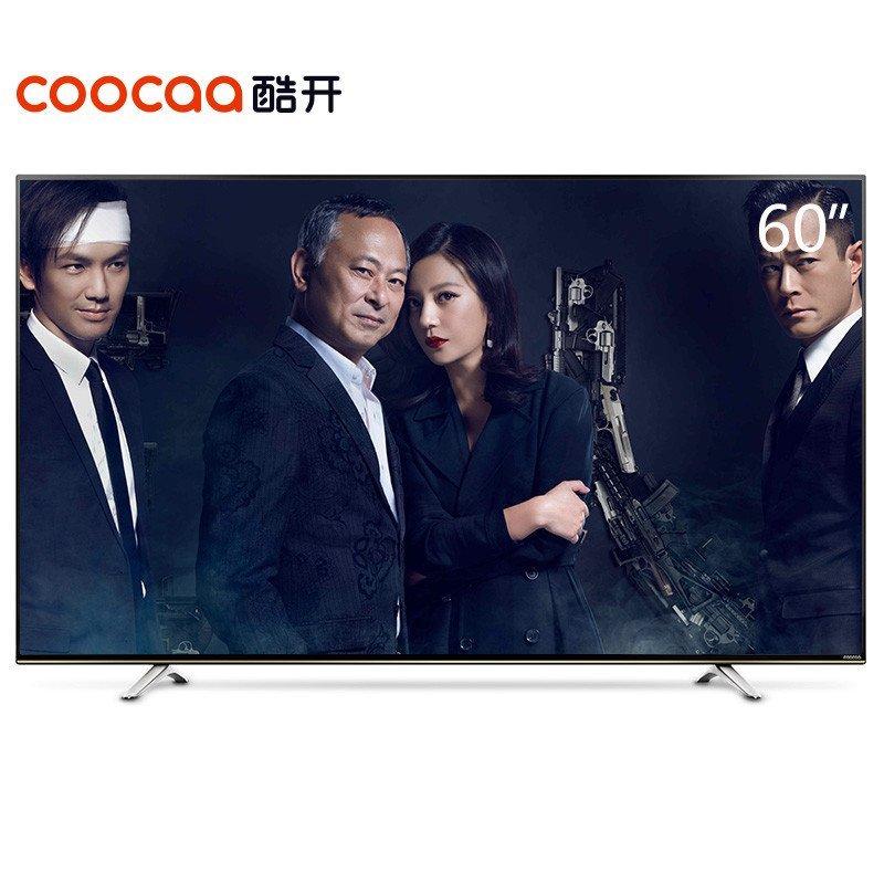 酷开(Coocaa) K60 60英寸全高清智能网络液晶平板电视 酷开系统WiFi