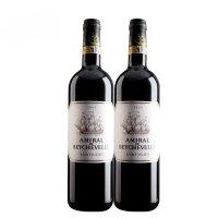 富隆红酒 法国原装进口葡萄酒龙船将军干红葡