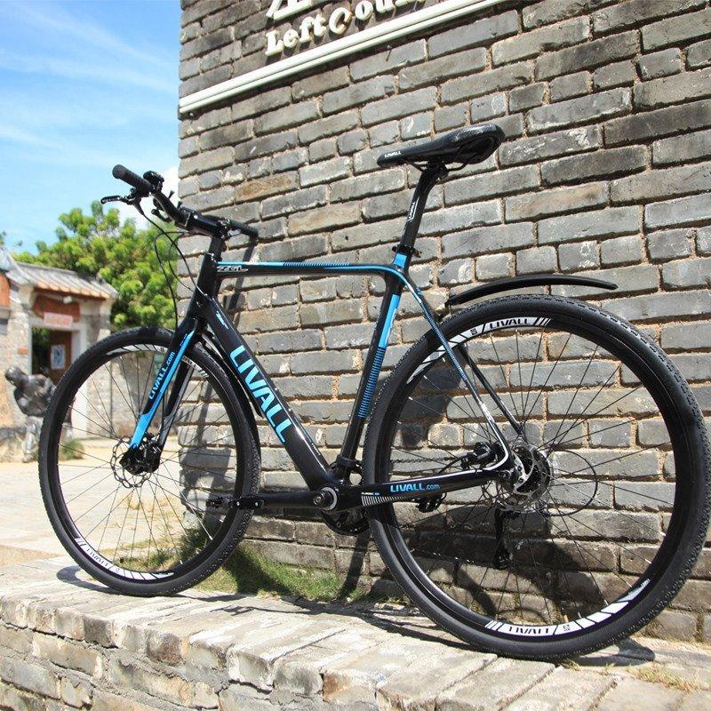 全碳纤维山地自行车智能自行车