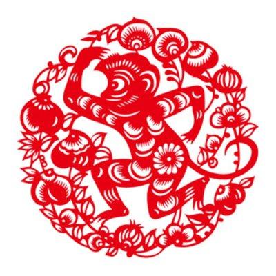 2016门贴鱼剪纸裱框过年春节小窗花国画福字宾馆春联