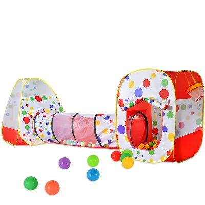 儿童帐篷超大房子室内宝宝游戏屋海洋球池隧道1