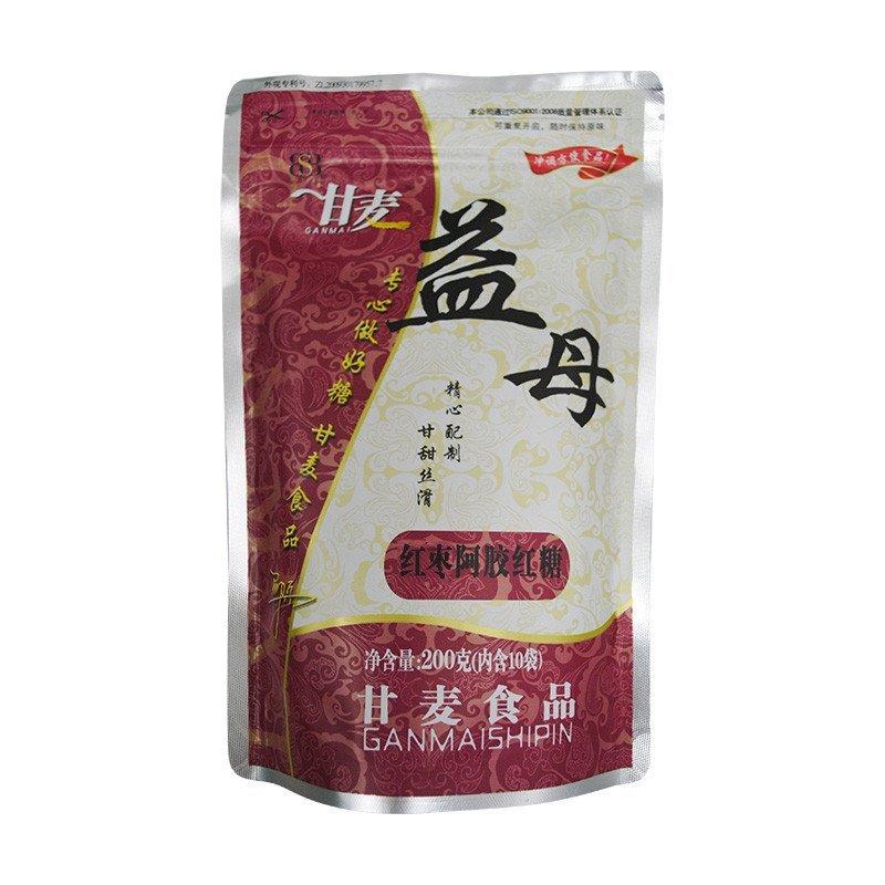 甘麦红枣阿胶红糖200g 独立小包装冲调红糖图片