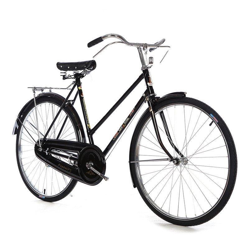 凤凰26寸老式车杆闸车复古车平把自行车男式直梁女式斜梁怀旧单车图片