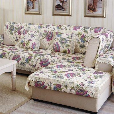 皮沙发坐垫欧式防滑组合沙发巾沙发套