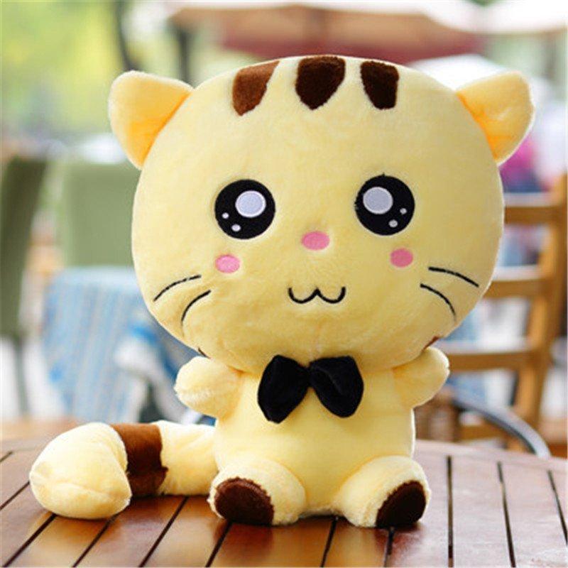 可爱猫咪公仔大脸猫毛绒玩具抱枕布娃娃玩偶生日礼物送女生礼品 全长