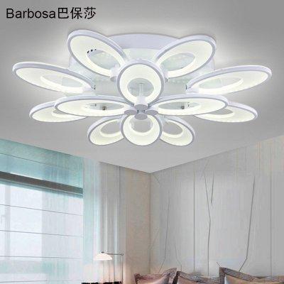 巴保莎led吸顶灯客厅灯创意灯具现代简约艺术圆形