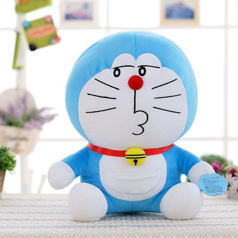 【方熊系列】方熊 正版哆啦a梦公仔毛绒玩具蓝胖子猫.
