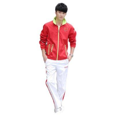 中国队国家队运动服套装 男女春秋冠军领奖服 奥运会出场服定制 xl图片