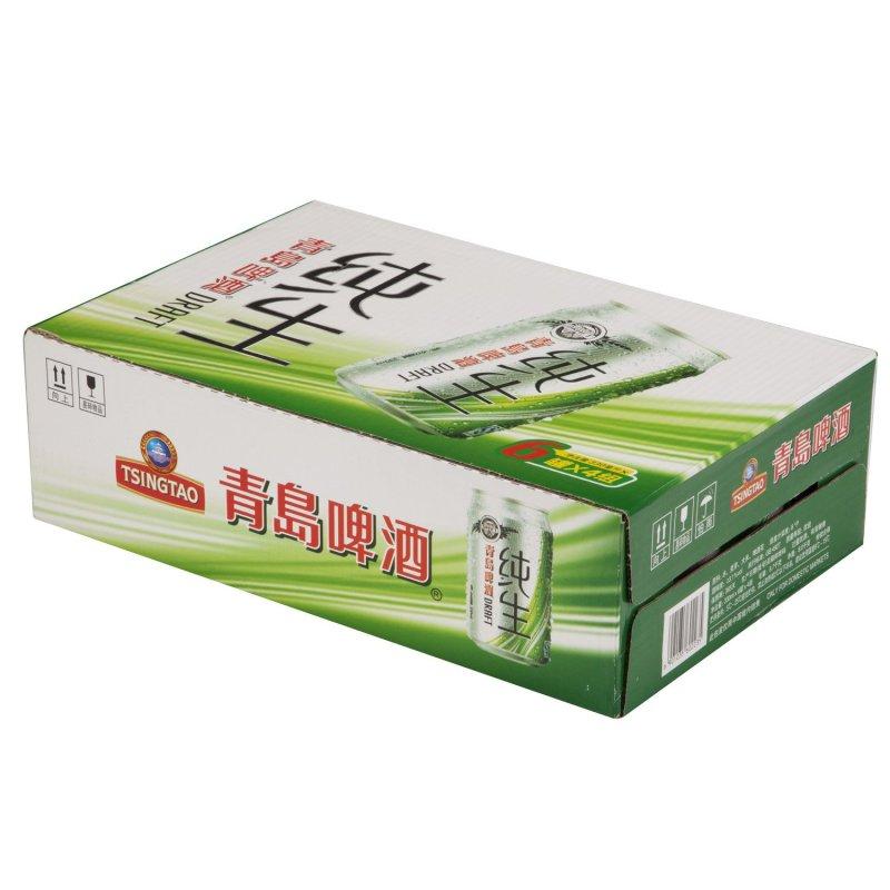 【苏宁超市】青岛啤酒 纯生(8度)330ml*24罐 箱装
