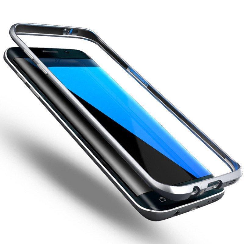 三星s7手机壳 s7edge手机壳g9300保护套g9350 s7edge金属边框曲面外壳