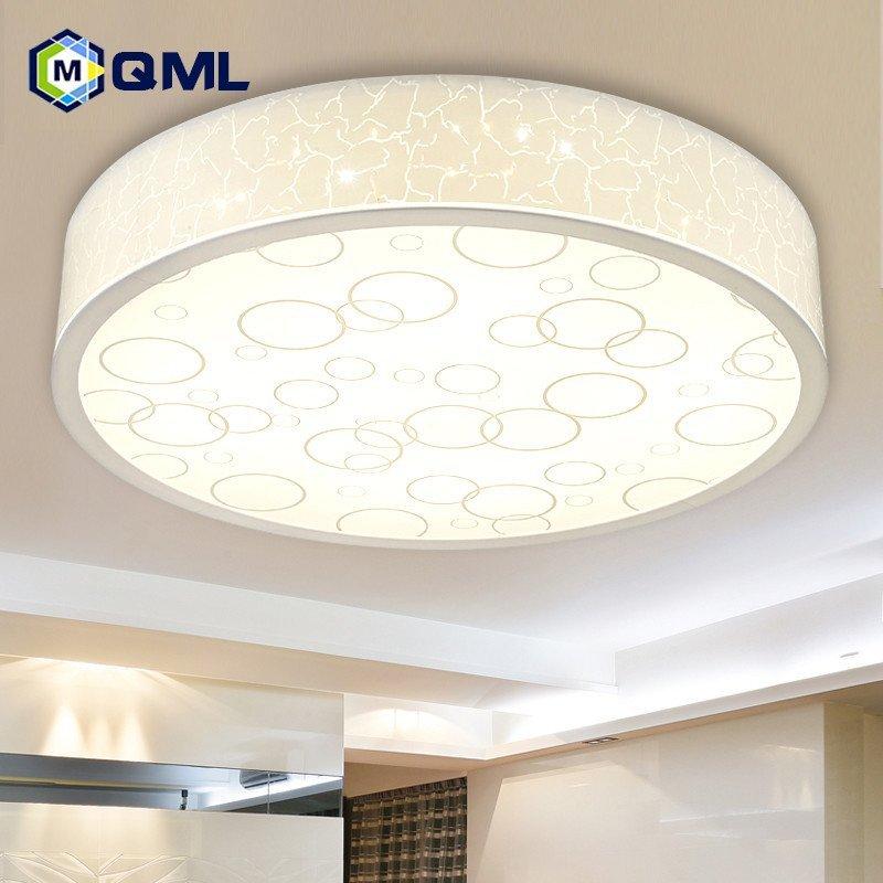 现代简约卧室灯阳台灯具 温馨浪漫厨房卫生间灯 圆形直径60cm圆48w