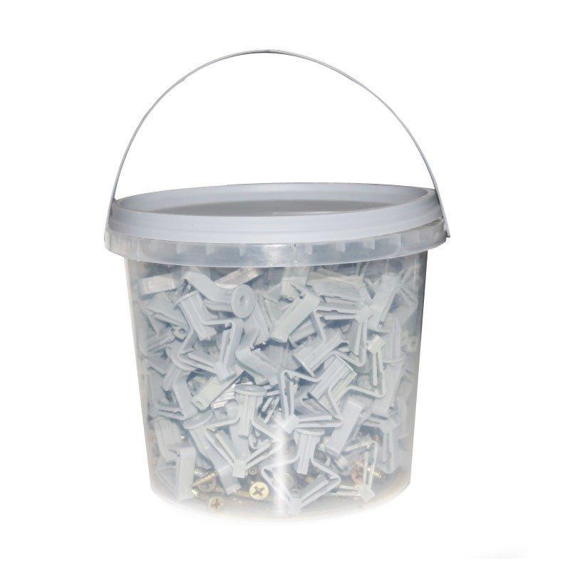 垃圾桶装石膏图片
