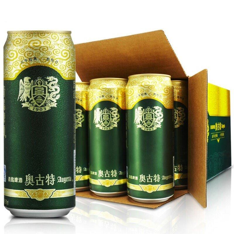 中酒网 青岛啤酒奥古特 500ml*12整箱装 国产啤酒高清实拍图