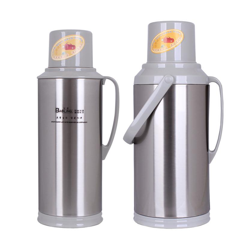 宝菱不锈钢外壳玻璃内胆家用保温瓶热水瓶保温壶暖水壶暖瓶cl-588sl 5