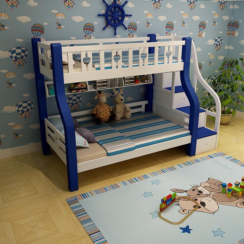香格里湾 儿童床 高低床 实木床 上下双层子母床 两层