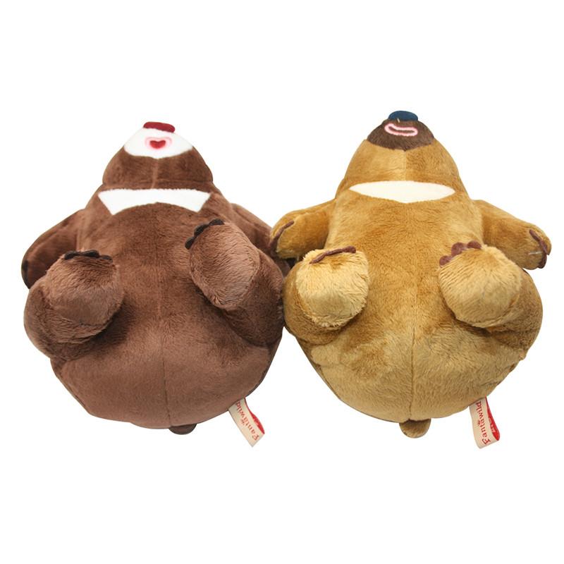 bears/熊出没 熊大熊二 超柔毛绒公仔 手机座 玩具 迷你玩偶 可爱礼物