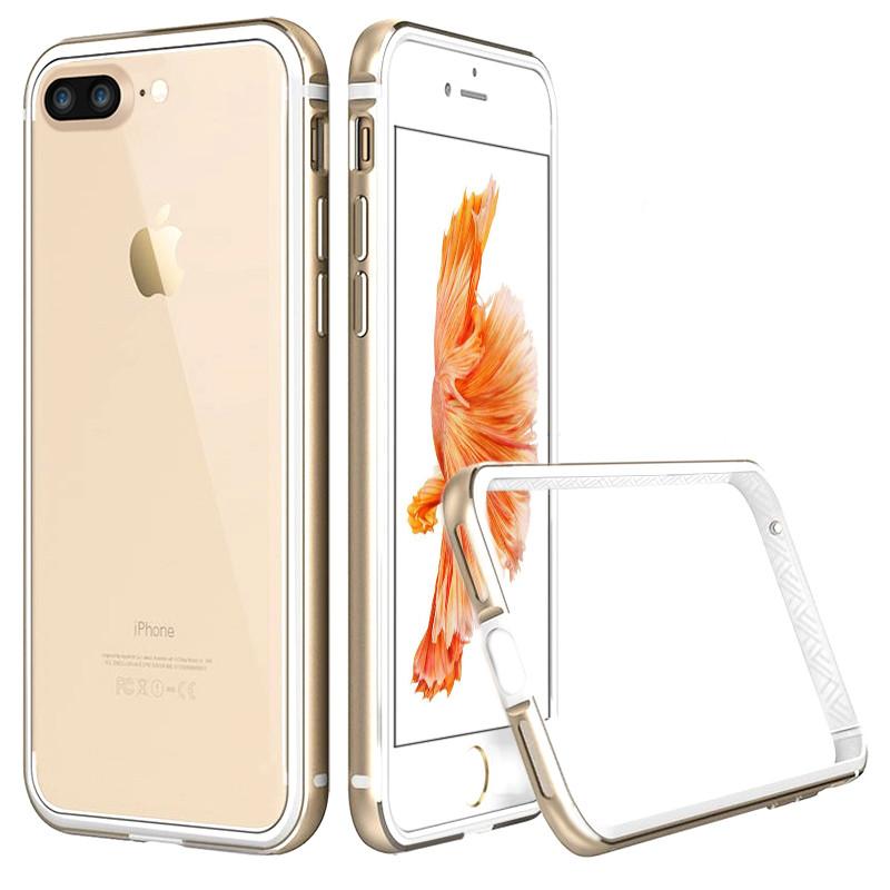 苹果7 plus防摔金属边框